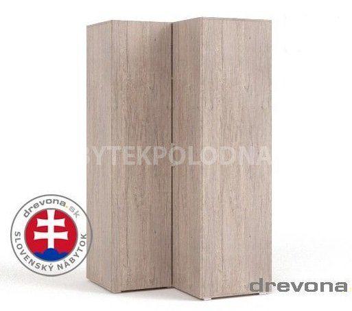 Rohová šatní skříň REA VENEZIA 5