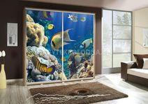 Šatní skříň PEM 205 akvárium II.