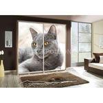 Šatní skříň PEM 205 kočka