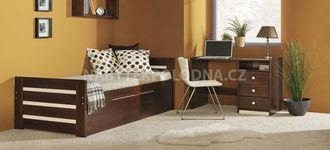 Dětská postel s přistýlkou DAWID