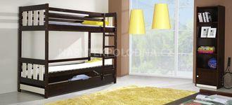 Dětská patrová postel KACPER