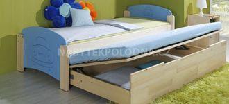 Dětská postel s přistýlkou JAS 2