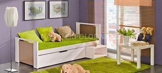 Dětská postel s úložným prostorem KUBUS