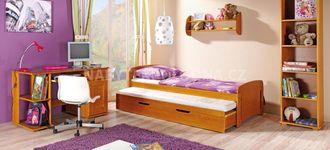 Dětská postel s přistýlkou WOJTEK