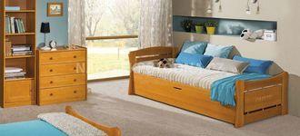Dětská postel s úložným prostorem PATRYK 1