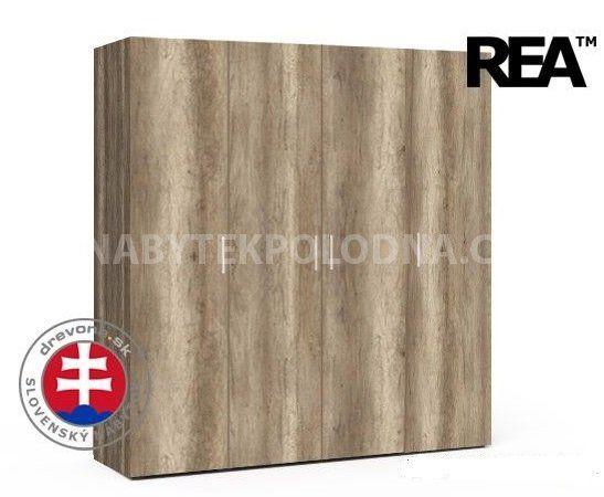 Šatní skříň REA VENEZIA 4 - Expresní dodání