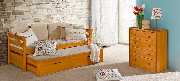 Dětská postel s přistýlkou TYTUS