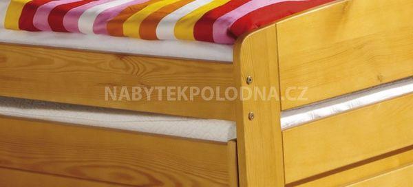 Dětská postel s přistýlkou BARTEK