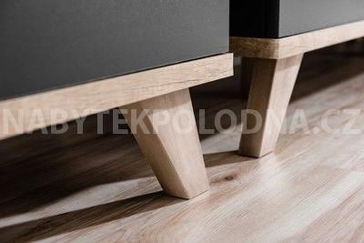 Kombinovaná komoda 2D1S LEG