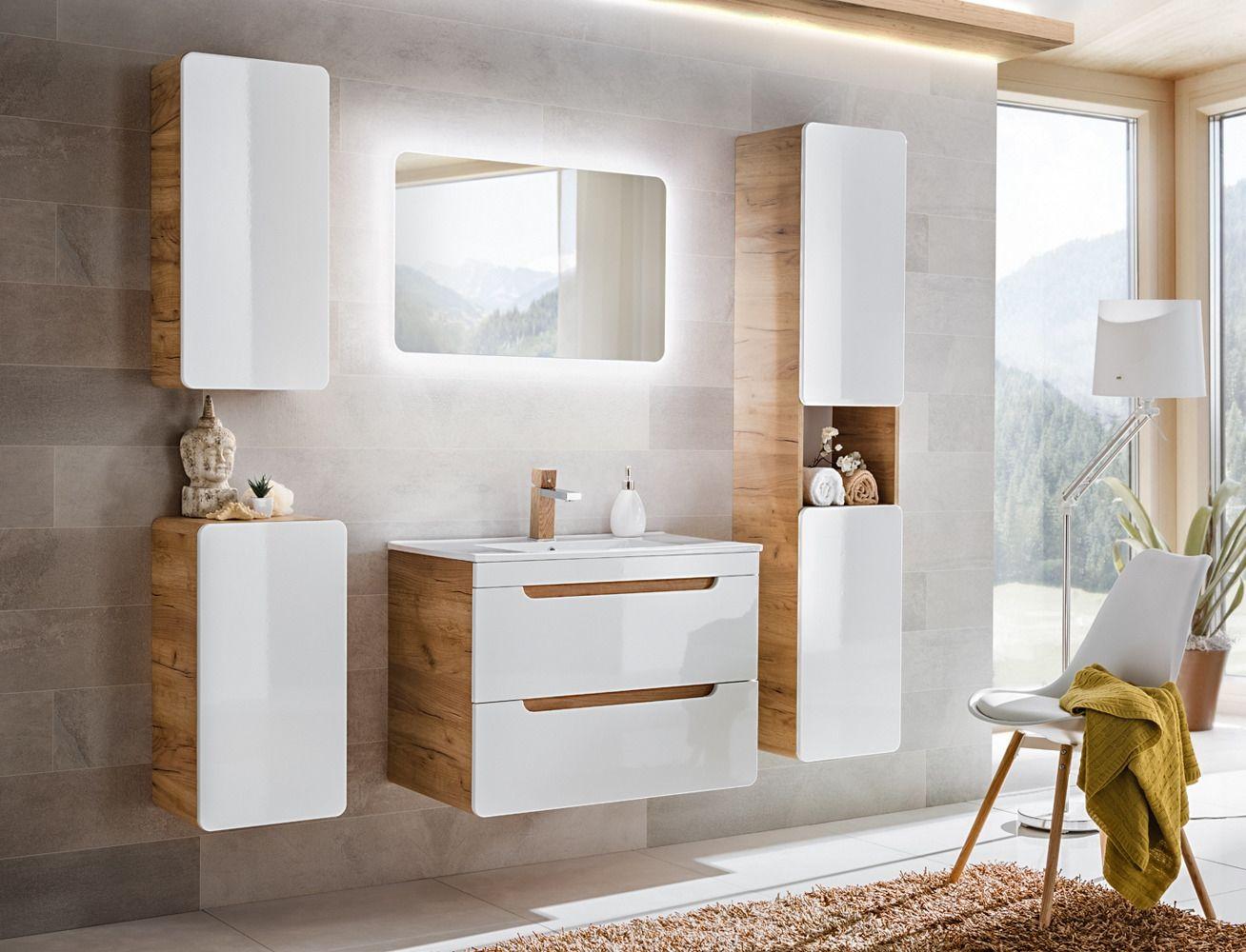 Koupelnová skříňka ARUSA 821 - pod umyvadlo 80