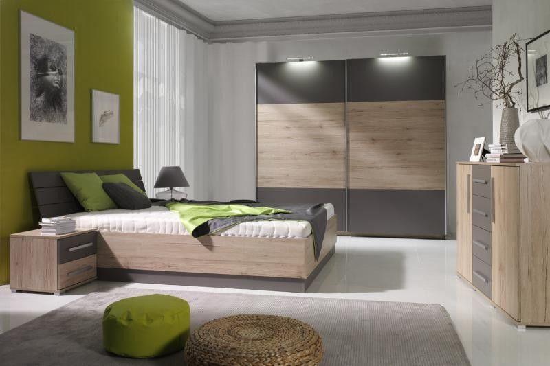 Manželská postel DION - SKLADEM