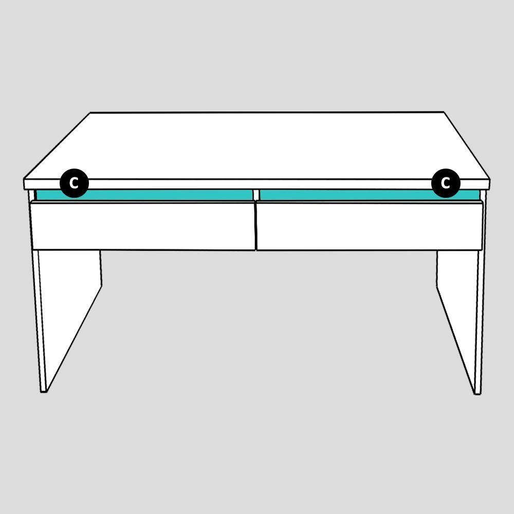 Konferenční stolek REA AMY 22/120