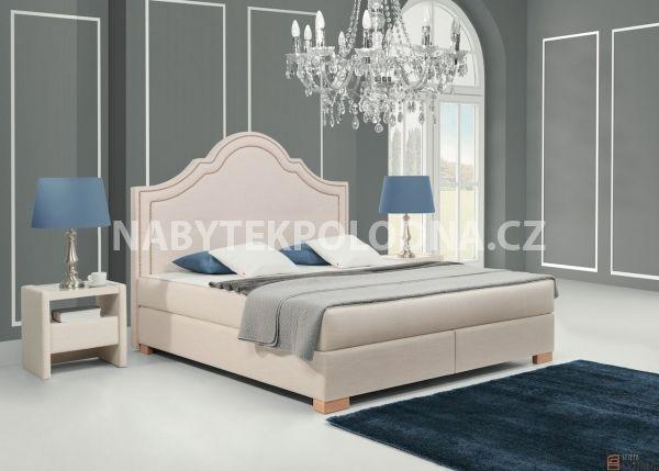 Manželská postel BOXSPRING 900