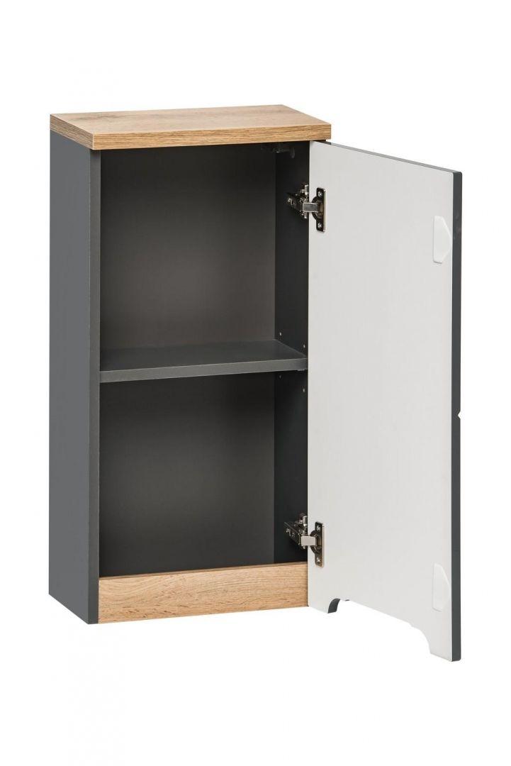 Koupelnová skříňka BALLI GREY 830 - závěsná
