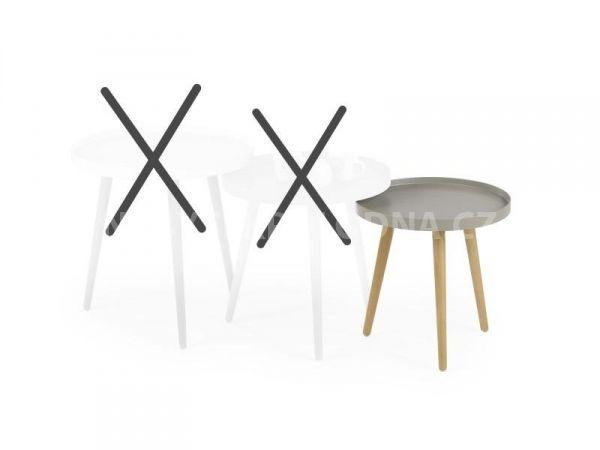Konferenční stolek MALAGA 3