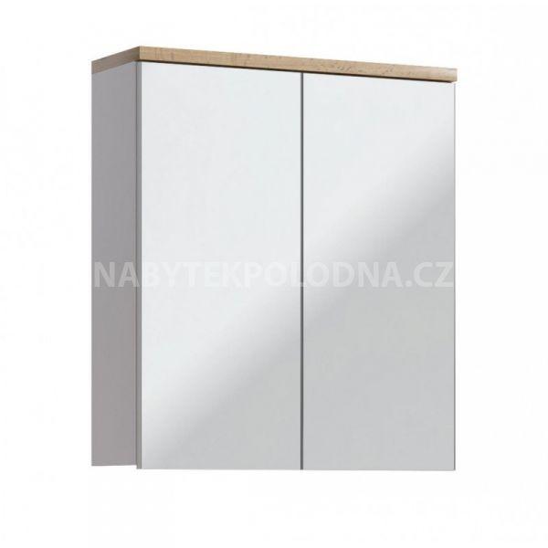 Koupelnová skříňka BALLI 840 - závěsná zrcadlo 60