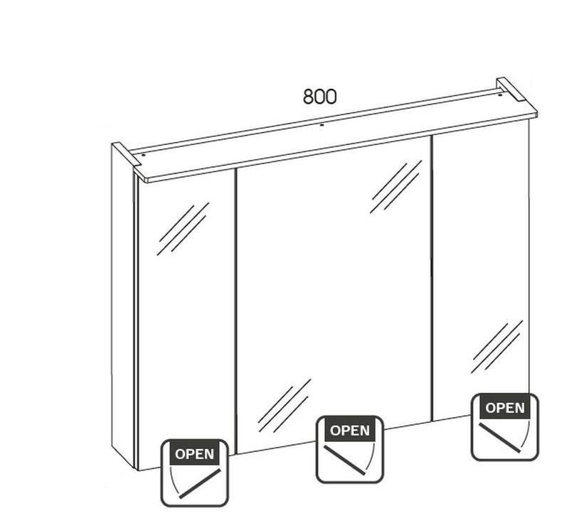 Koupelnová sestava GALLAXY 160