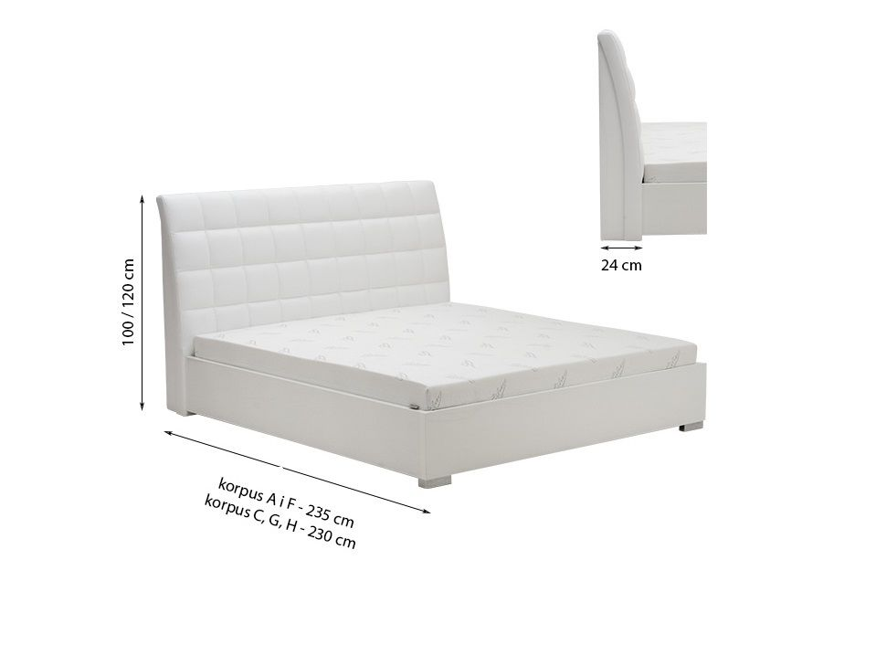 Manželská postel MINI-MAX 3100