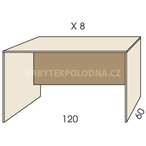 Psací stůl JIM 5 X 8