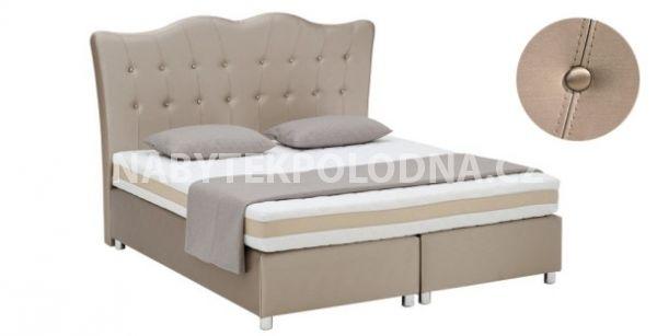 Manželská postel BOXSPRING 501