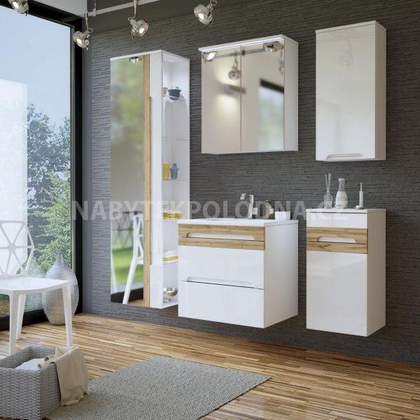 Koupelnová skříňka GALLAXY 802 - závěsná velká zrcadlo