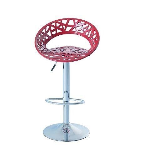 Barová židle ORIA červená