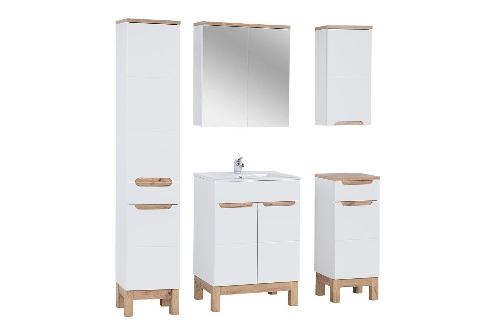 Koupelnová skříňka BALLI 800 - vysoká
