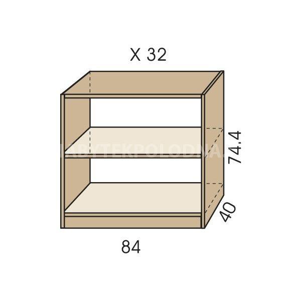 Komoda otevřená JIM 5 X 32