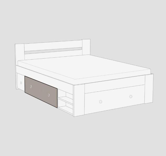Manželská postel REA LARISA 140