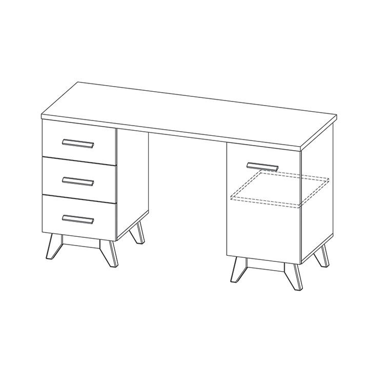 Pracovní stůl SVEN 12