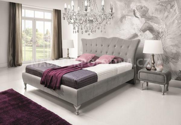 Manželská postel PRINCESA - SKLADEM