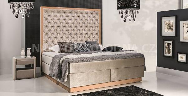 Manželská postel KONTINENTÁLNÍ 700