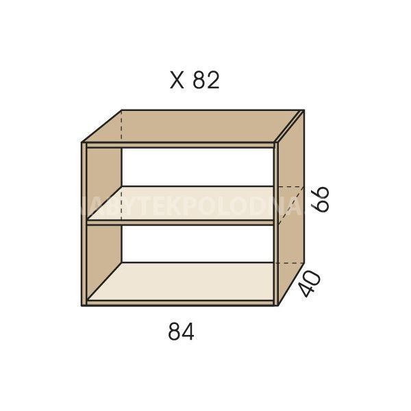 Nástavec na skříň JIM 5 X 82