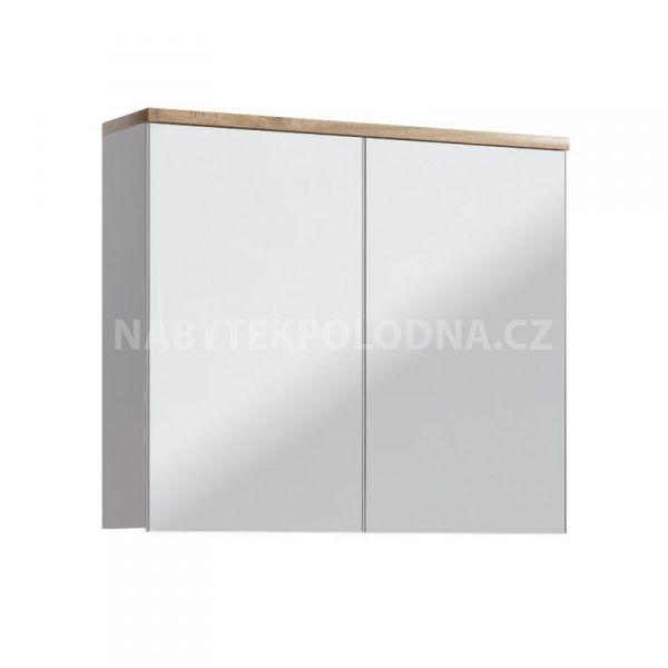 Koupelnová skříňka BALLI 841 - závěsná zrcadlo 80
