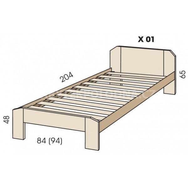 Dětská postel JIM 5 X 01