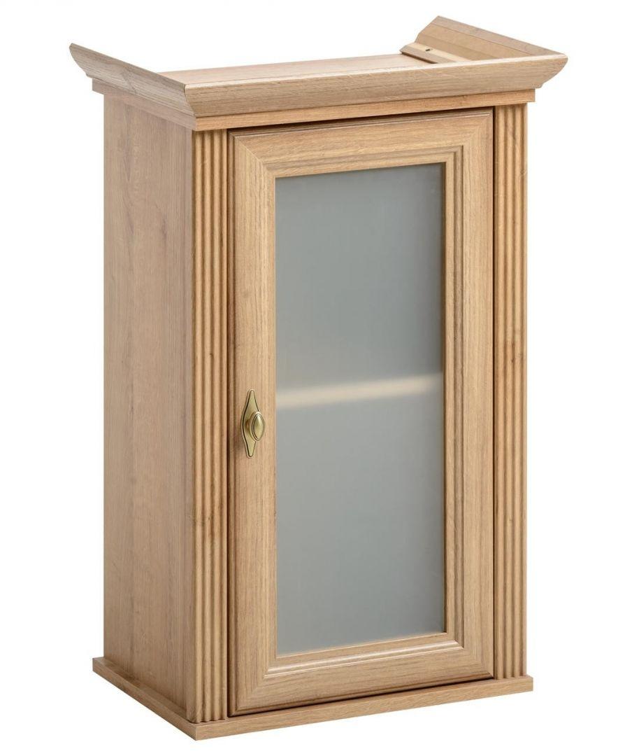 Koupelnová skříňka PALAS DUB 830 - závěsná