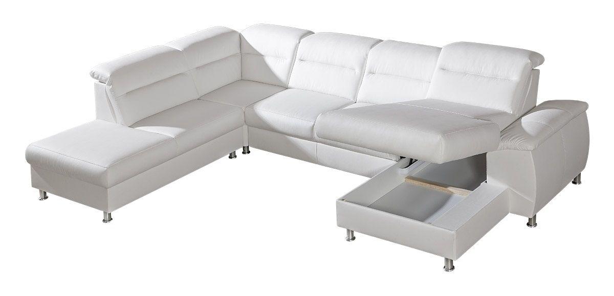 Kožená sedací souprava SCANDY do U 1 - SKLADEM