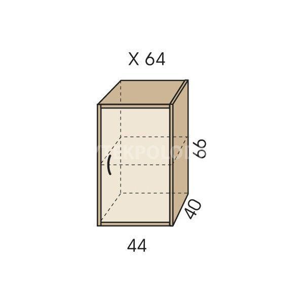Nástavec na skříň JIM 5 X 64