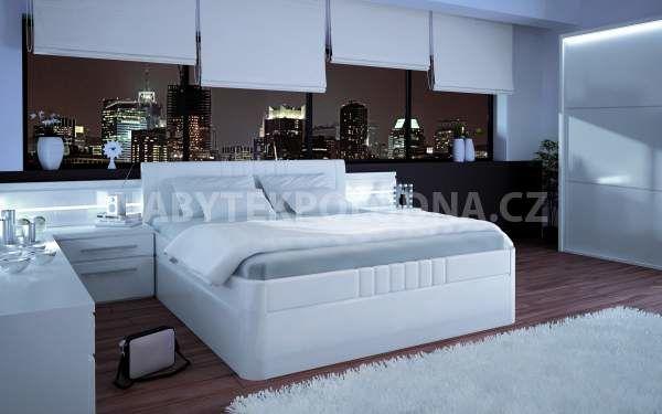 Manželská postel BOHEMIA UP