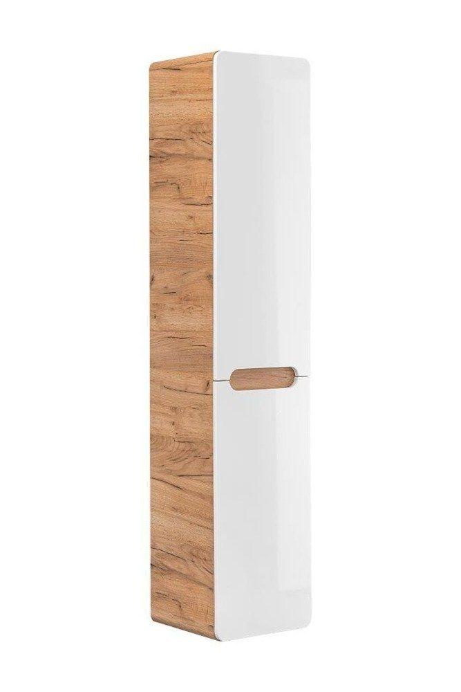 Koupelnová skříňka ARUSA 804 - vysoká s košem