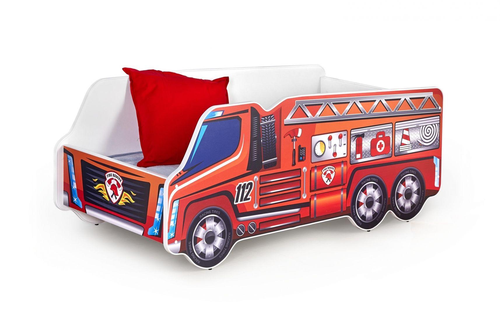 Dětská postel FIRE TRUCK