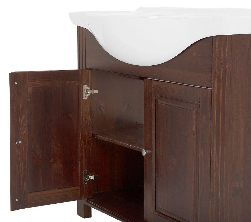 Koupelnová skříňka RETRO MASIV 864 - pod umyvadlo 65