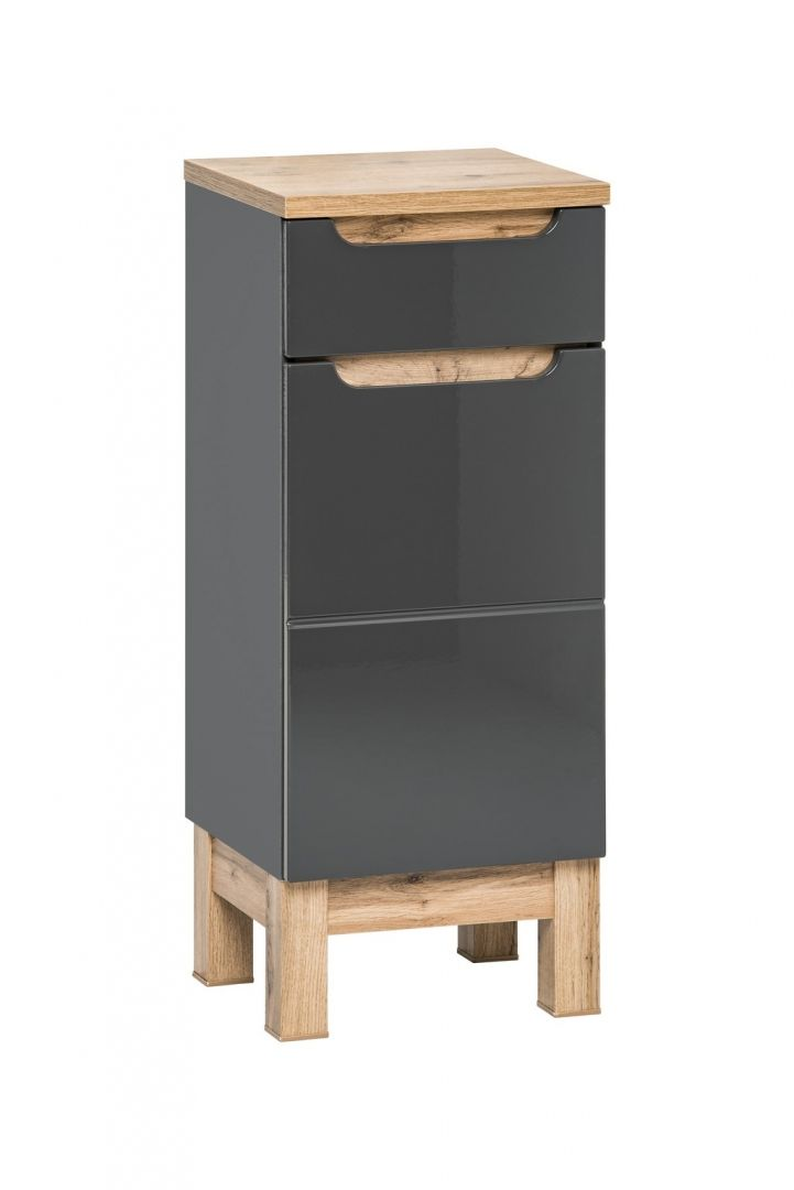 Koupelnová skříňka BALLI GREY 810 - nízká