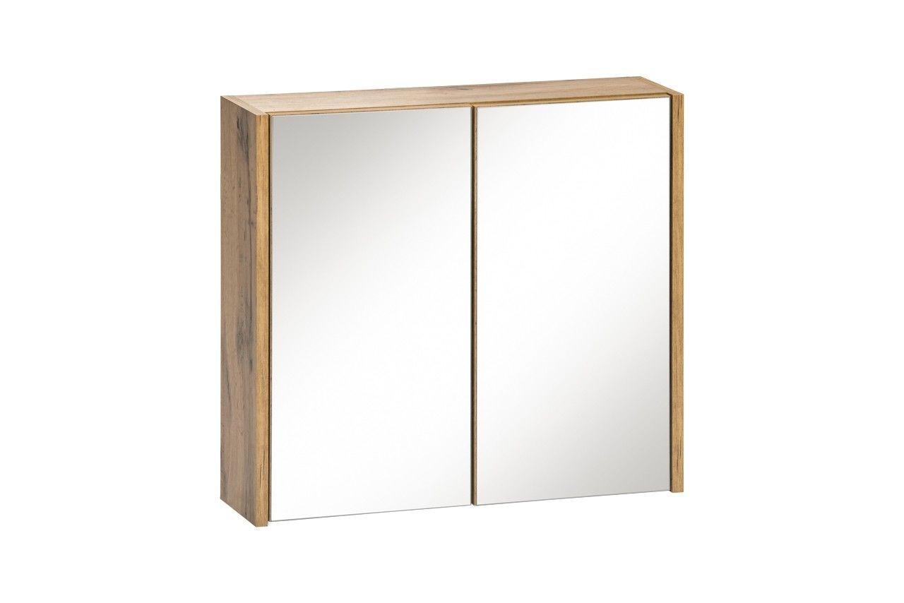 Koupelnová skříňka BIZA WHITE 840 - závěsná zrcadlo 60