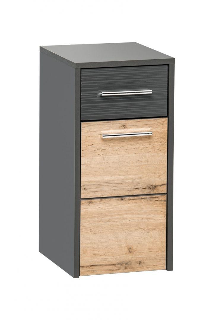 Koupelnová skříňka BIZA ANTRACIT 810 - nízká