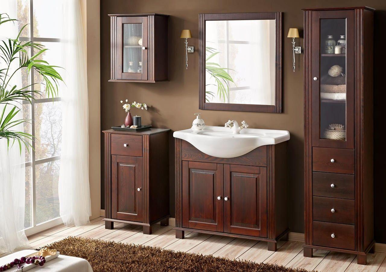 Koupelnové zrcadlo RETRO MASIV 840 - 74