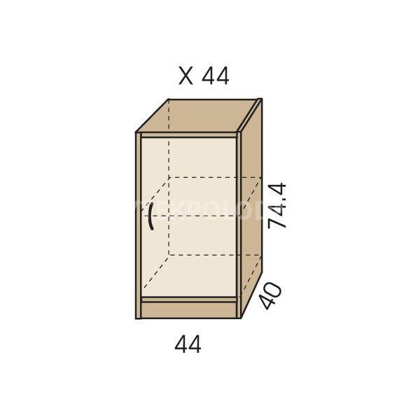 Komoda JIM 5 X 44