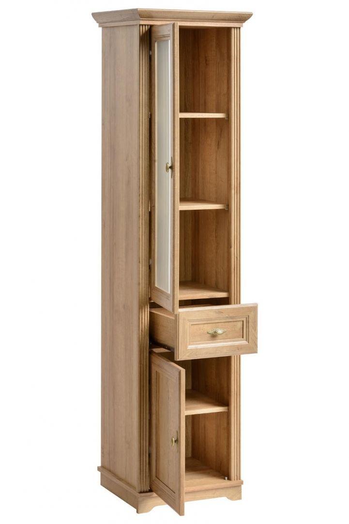 Koupelnová skříňka PALAS DUB 800 - vysoká