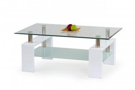 Konferenční stolek DIANA H bílý