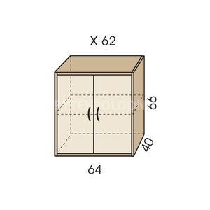 Nástavec na skříň JIM 5 X 62
